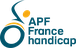 Logo de APF France handicap